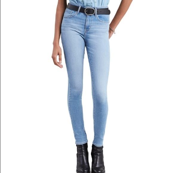 Levi's Denim - Levi's 721 high rise skinny light wash jeans